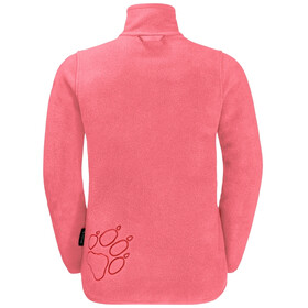 Jack Wolfskin Baksmalla Jacke Kinder coral pink